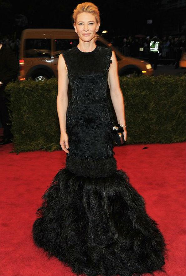 Cate Blanchett at the 2012 Met Gala