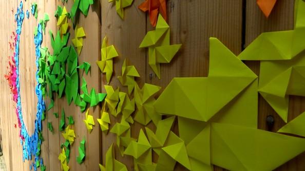 Mademoiselle Maurice Origami Street Art 16