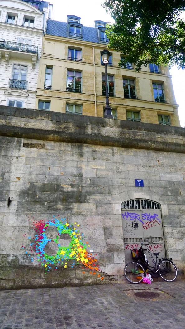 Mademoiselle Maurice Origami Street Art 18