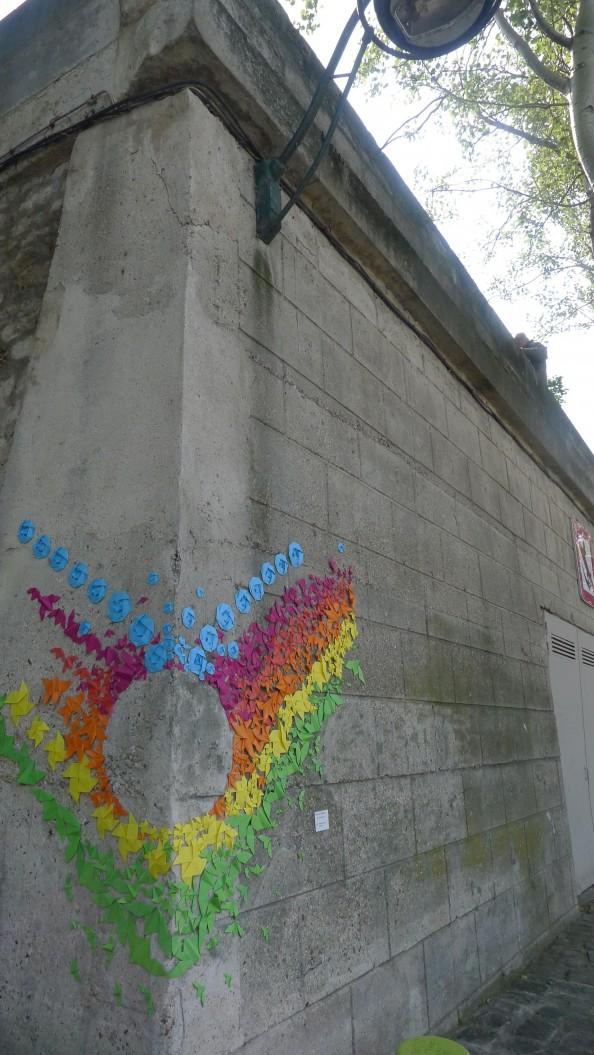 Mademoiselle Maurice Origami Street Art 20