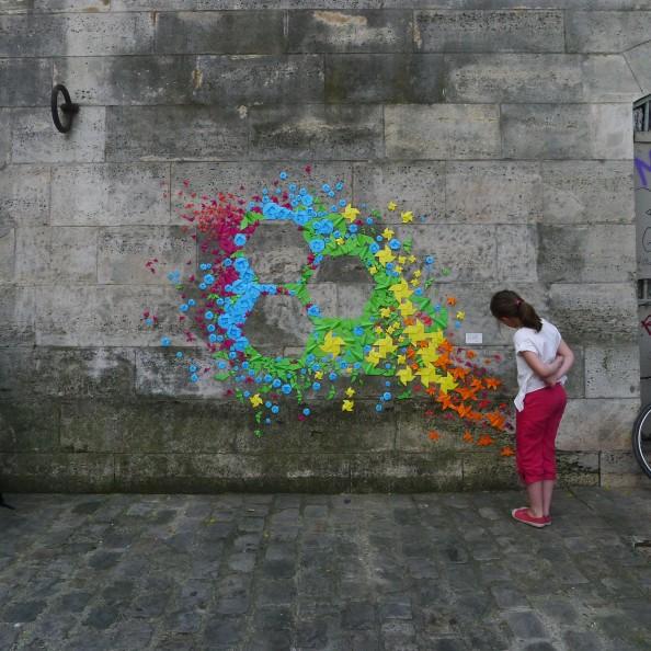Mademoiselle Maurice Origami Street Art 7