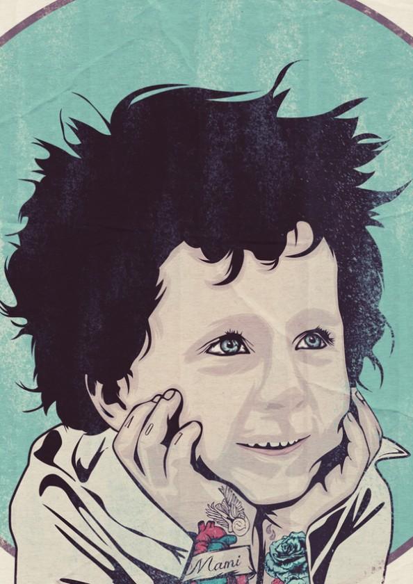 Nick Schmidt Illustrations Children Tattoos 2