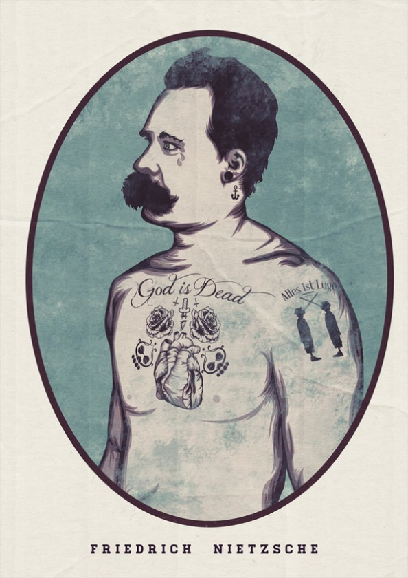 Nick Schmidt Illustrations Children Tattoos 4