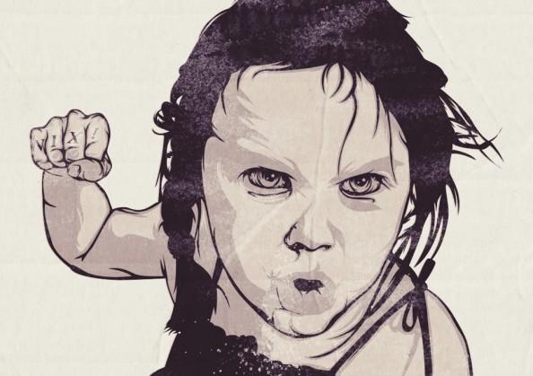 Nick Schmidt Illustrations Children Tattoos 5