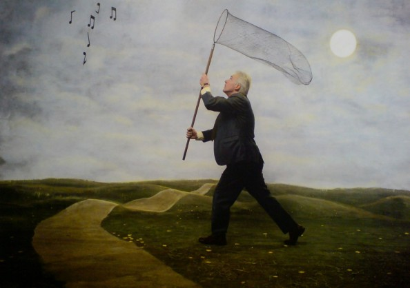 Teun Hocks Painted Photo works 5