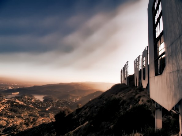Behind the Hollywood Sign Project by Ted VanCleave 10