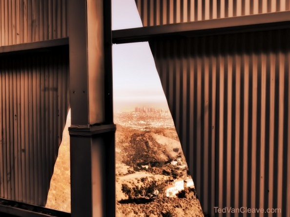 Behind the Hollywood Sign Project by Ted VanCleave 12