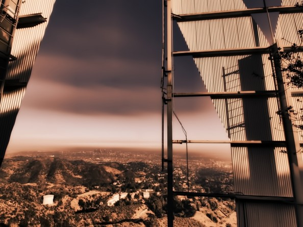 Behind the Hollywood Sign Project by Ted VanCleave 13
