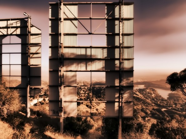 Behind the Hollywood Sign Project by Ted VanCleave 16