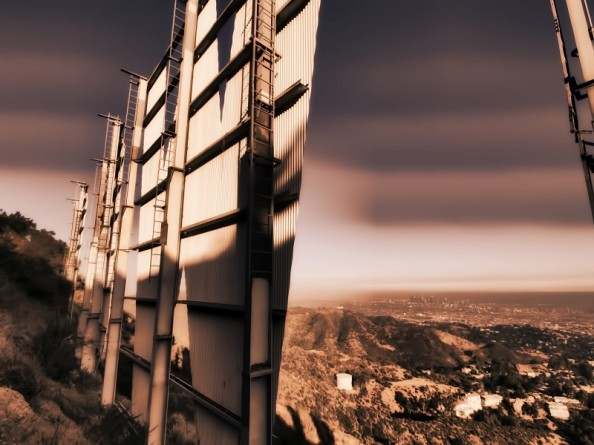 Behind the Hollywood Sign Project by Ted VanCleave 8