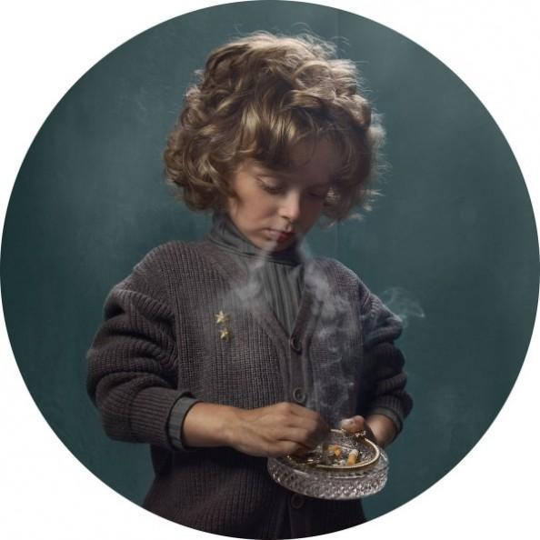 Frieke Janssens Photography Smoking Children Project 2