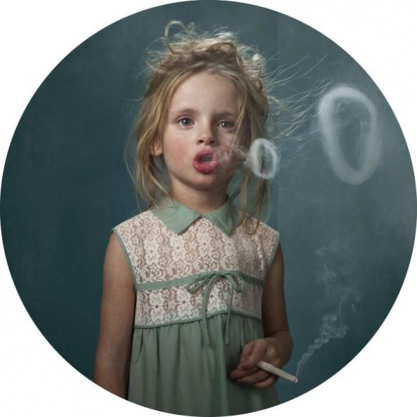 Frieke Janssens Photography Smoking Children Project
