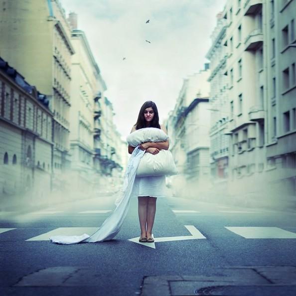 Julie de Waroquier Photography Surreal Streets 1