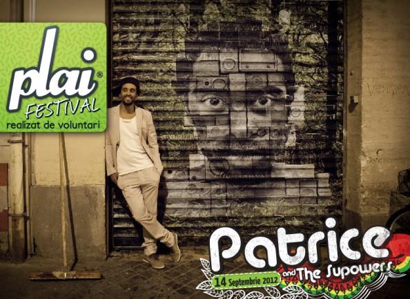 Patrice at Plai Festival - Romania, Timisoara
