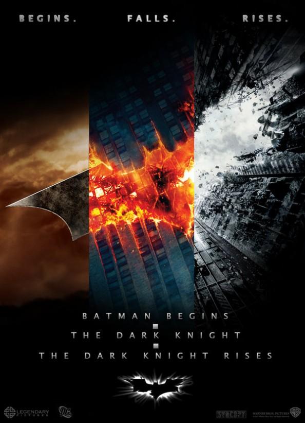 The Batman trilogy Fan Made Movie Poster