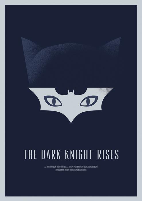 The Dark Knight Rises Movie Poster 2
