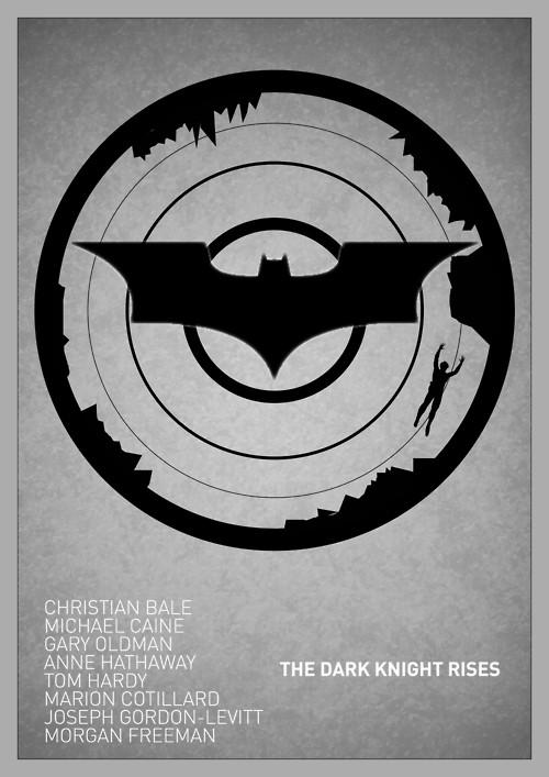 The Dark Knight Rises Movie Poster 3