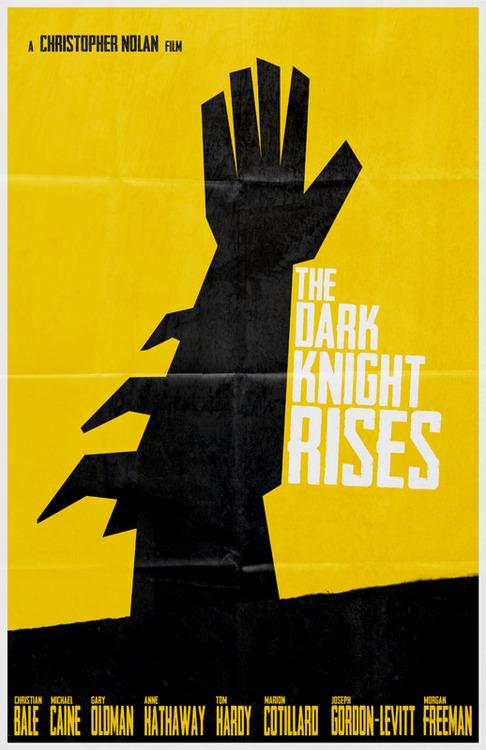 The Dark Knight Rises Movie Poster 8