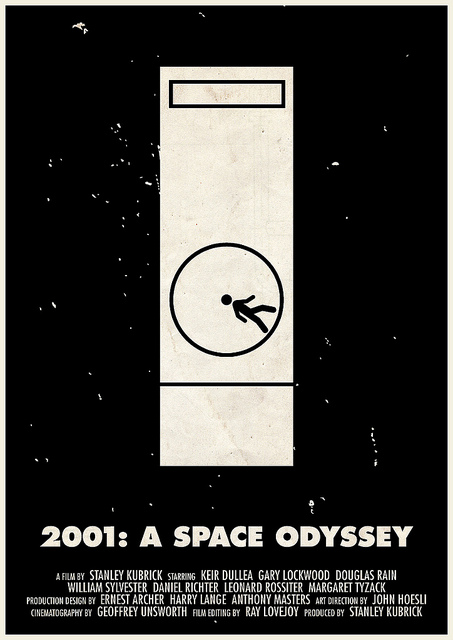Victor Hertz Pictogram Movie Posters - 2001 A space Odyssey