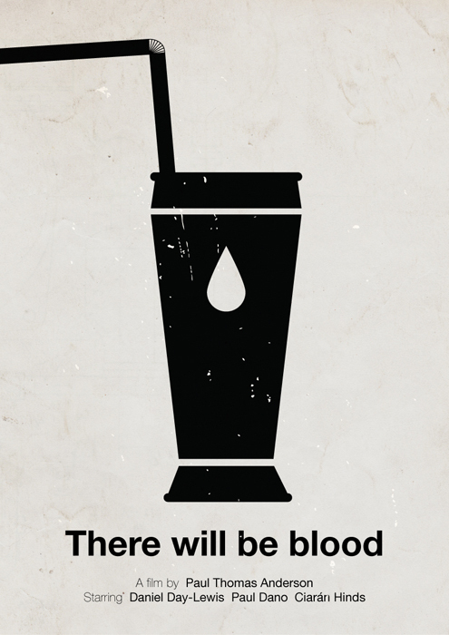 Victor Hertz Pictogram Movie Posters - There Will be Blood