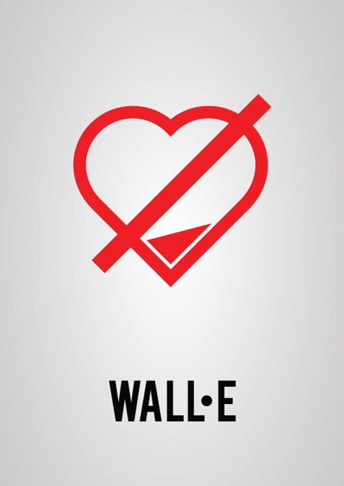 Victor Hertz Pictogram Movie Posters - Wall-e