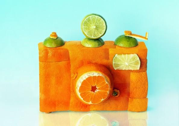 Dan Cretu Romanian Eco Artist - Food Sculptures 15
