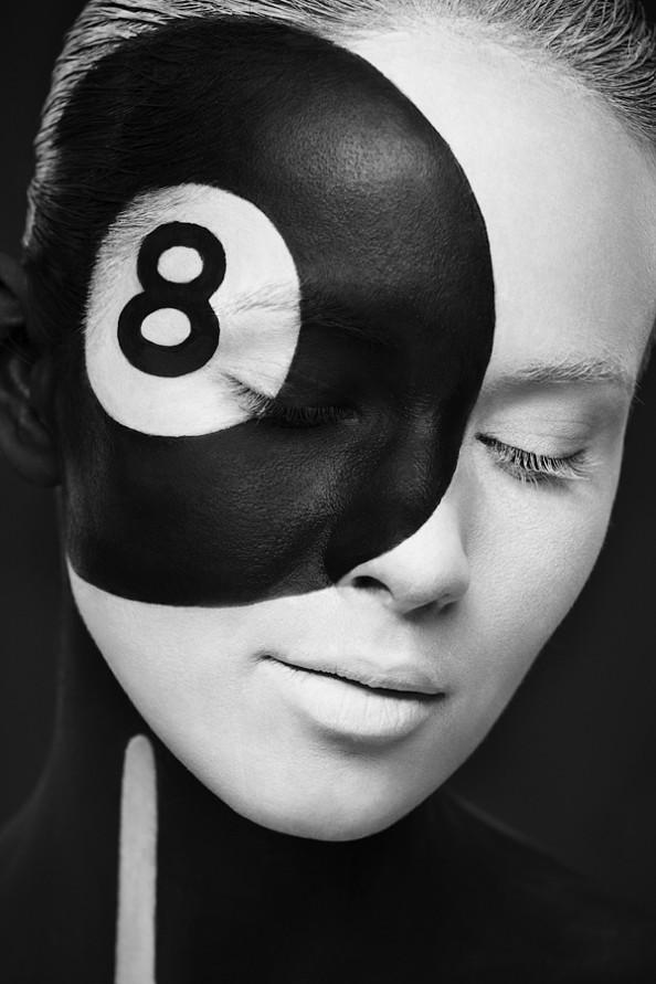 Weird Beauty Project by Alexander Khokhlov - Make up by Valeriya Kutsan Ball8