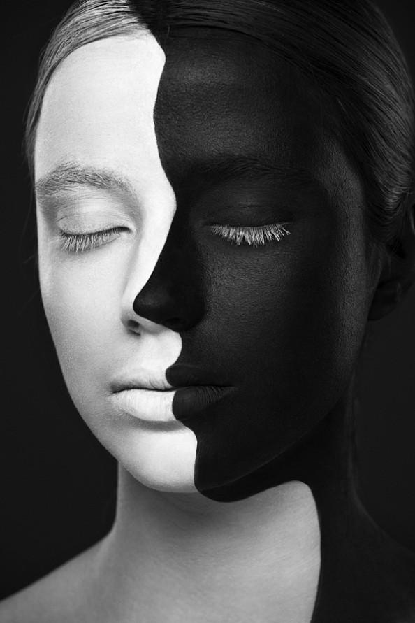 Weird Beauty Project by Alexander Khokhlov - Make up by Valeriya Kutsan Silhouette