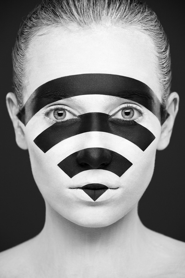 Weird Beauty Project by Alexander Khokhlov - Make up by Valeriya Kutsan Wi-Fi