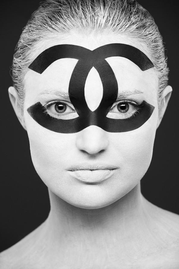 Weird Beauty Project by Alexander Khokhlov - Make up by Valeriya KutsanChanel