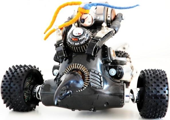 Himatic aka Andrea Petrachi - Mechanical sculptures 5