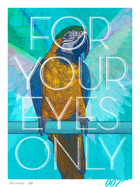 For your eyes only fan-made poster by Herring&haggis