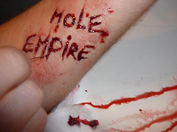 Carla Dias - Mole Empire under her skin 2 (Mole Empire imagined by others)