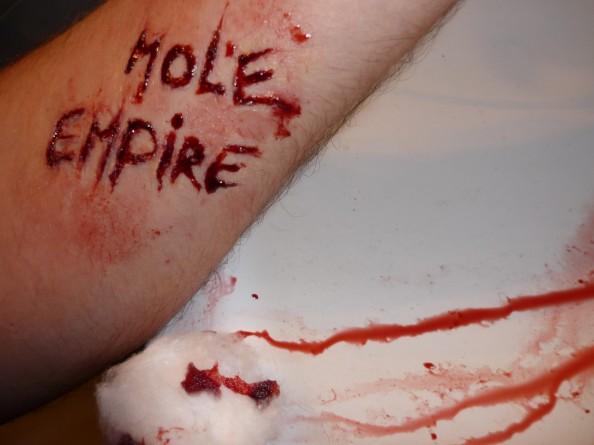 Carla Dias - Mole Empire under her skin 3 (Mole Empire imagined by others)