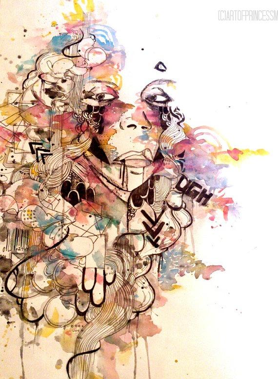 Art of Princess M Illustrations 5