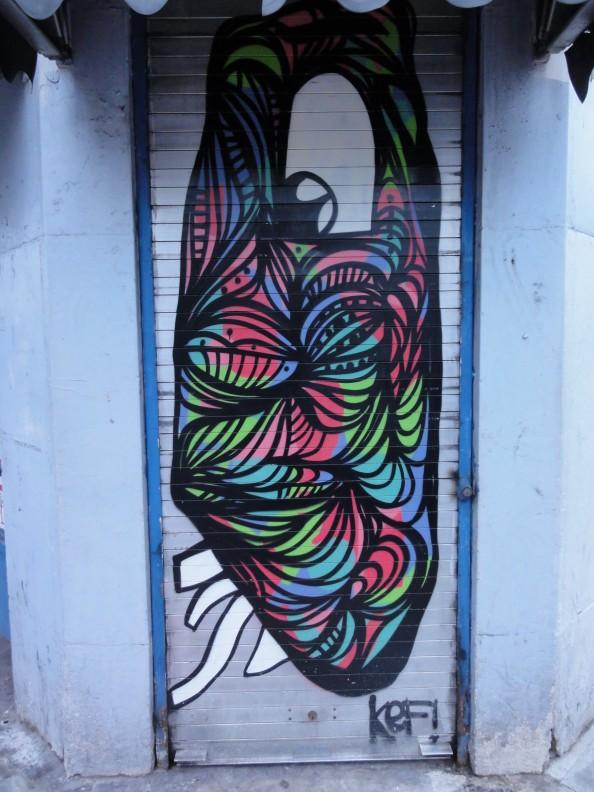 German Artist KEF - Grafitti Art 2