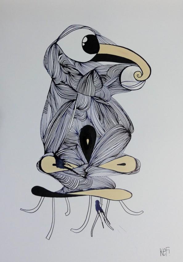 German Artist KEF - Grafitti Art 4