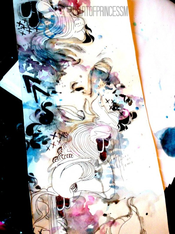 Illustrations by Princess Mia