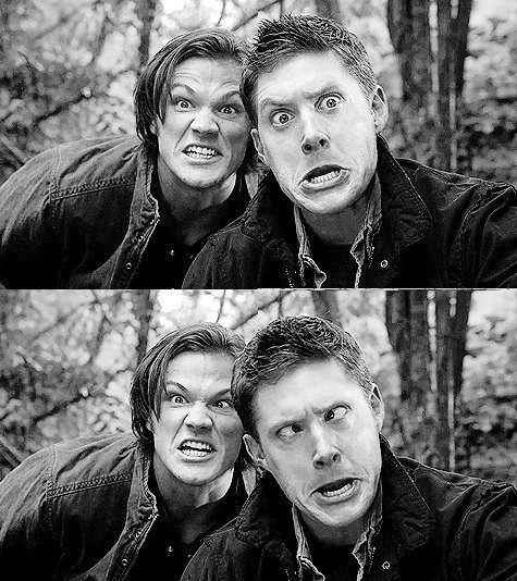 Sam and Dean Winchester - funny moments from Supernatural