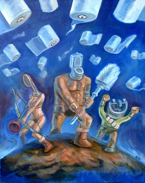 Dario Mekler 3 The Toilette Trio