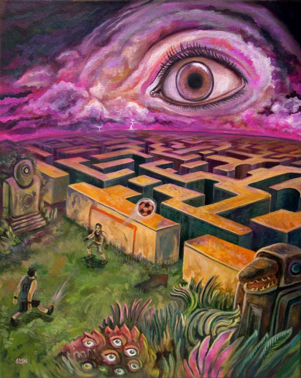 Dario Mekler The maze