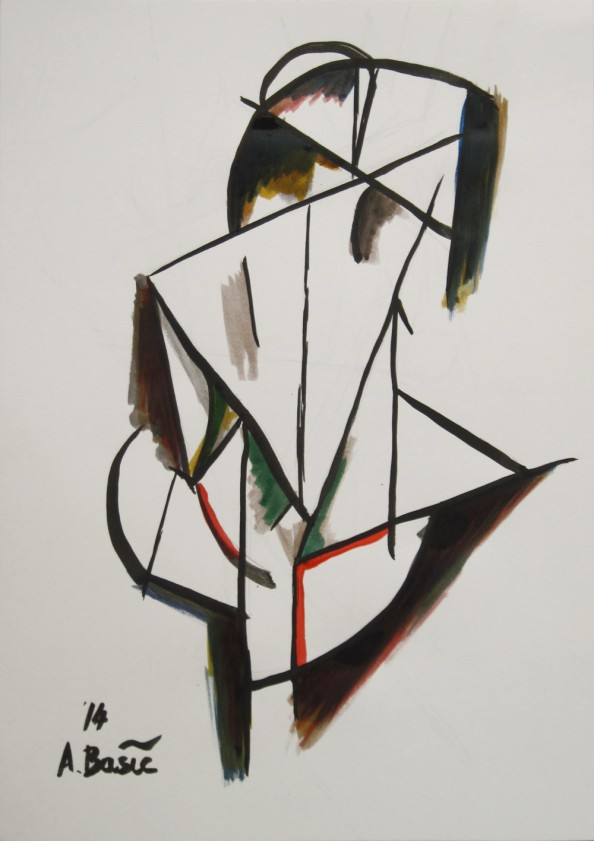 Aleksandar Basic Paul McPherson Gallery - Back