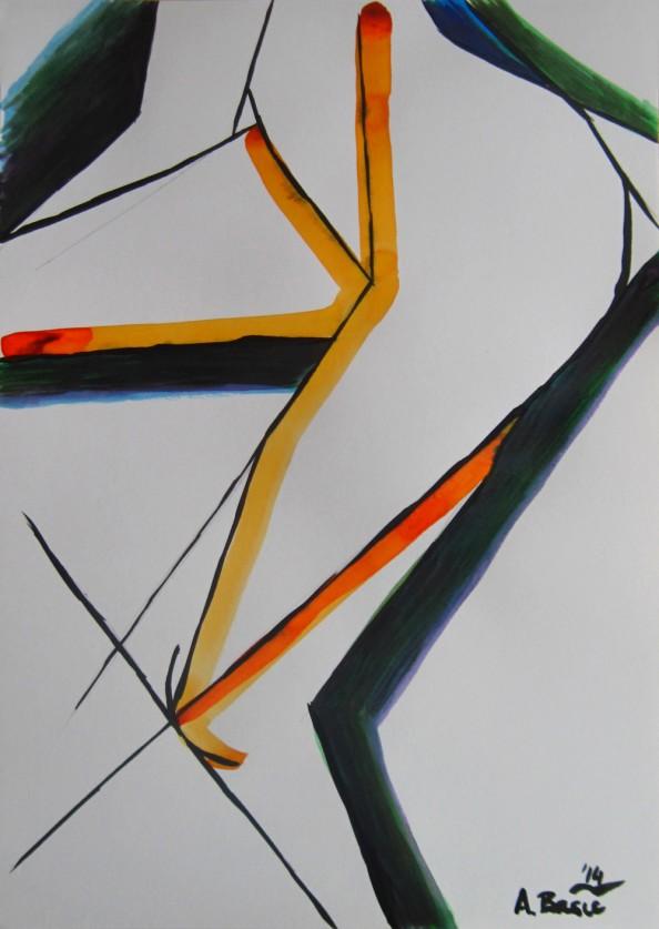 Aleksandar Basic Paul McPherson Gallery - Torso and Leg