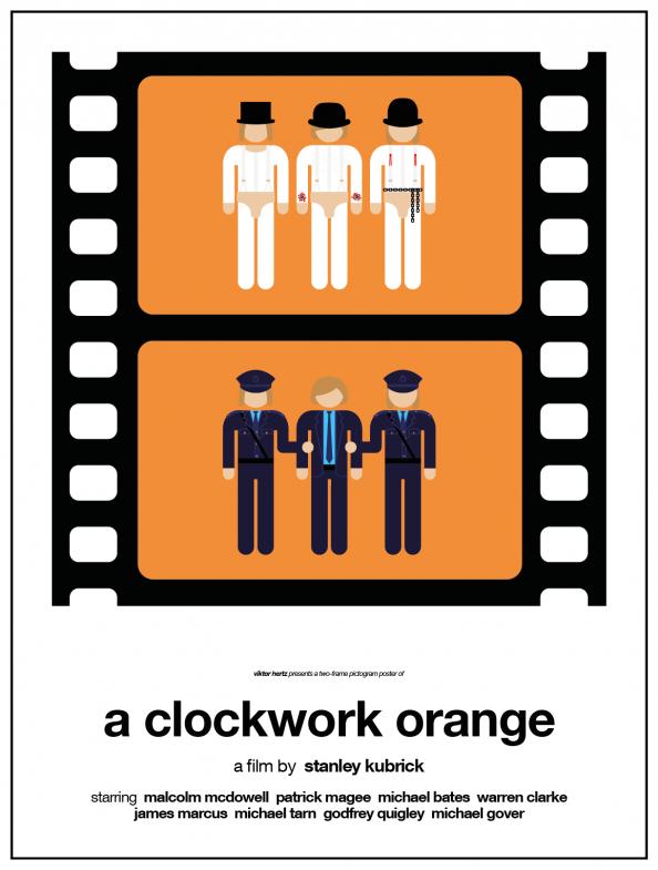 Viktor Hertz -Two Frame Pictogram Movie Posters 02