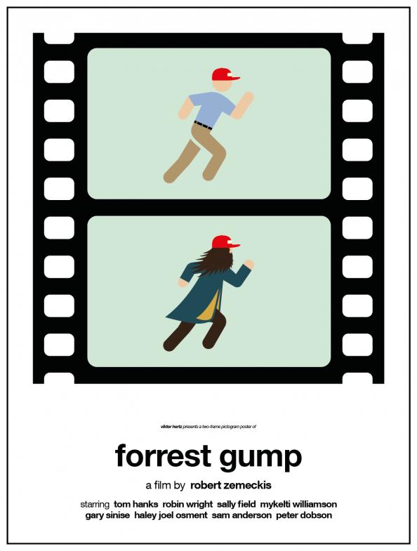 Viktor Hertz -Two Frame Pictogram Movie Posters 03