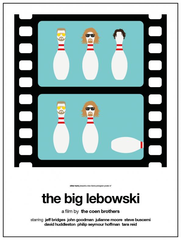 Viktor Hertz -Two Frame Pictogram Movie Posters 05