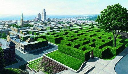 Rob Gonsalves Maze