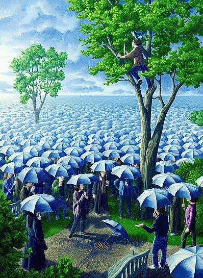 Rob Gonsalves Umbrella