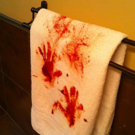 Bloody Towel Halloween